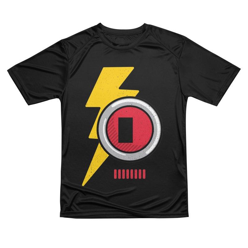 ROBOT BOWIE Women's Performance Unisex T-Shirt by Rocket Artist Shop