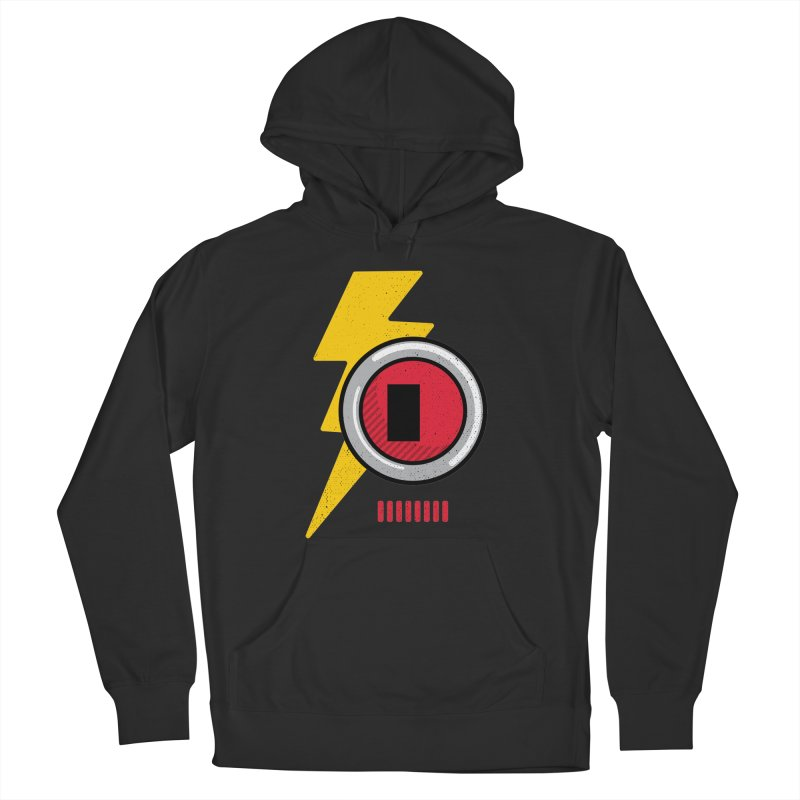 ROBOT BOWIE Men's Pullover Hoody by Rocket Artist Shop