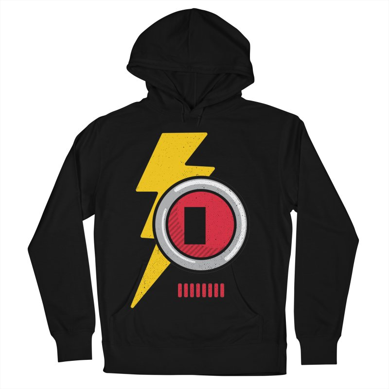 ROBOT BOWIE Women's French Terry Pullover Hoody by Rocket Artist Shop