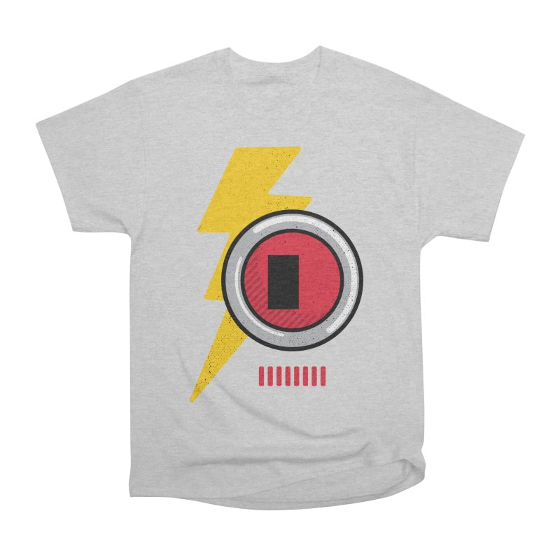 ROBOT BOWIE Women's Heavyweight Unisex T-Shirt by Rocket Artist Shop