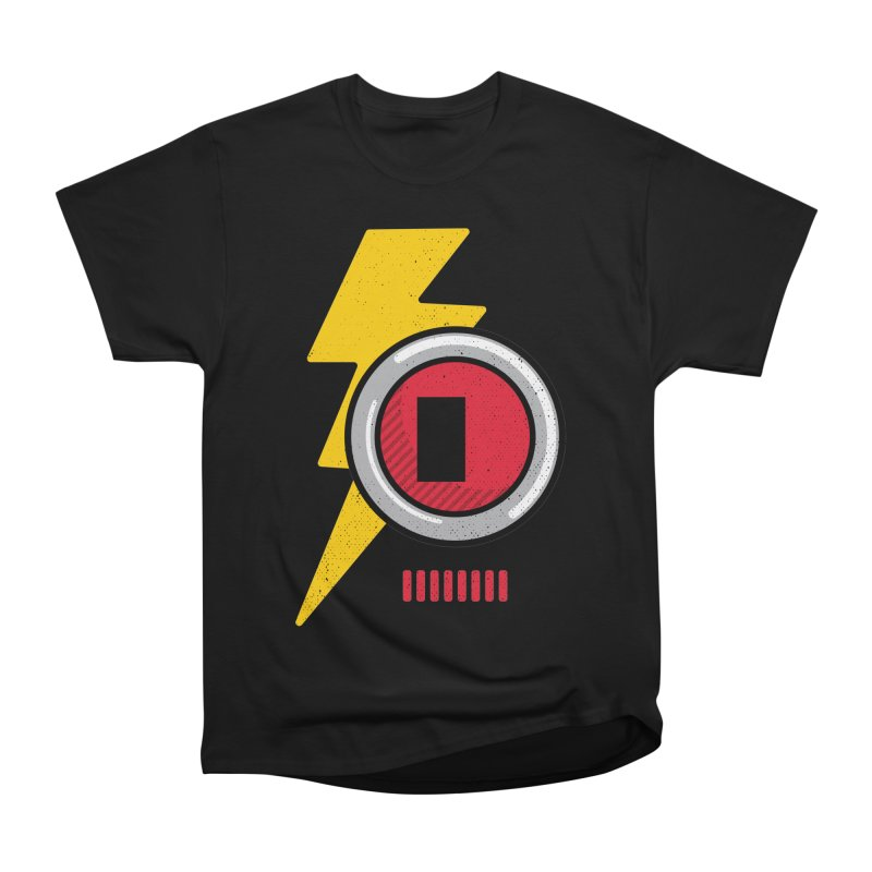 ROBOT BOWIE Men's Heavyweight T-Shirt by Rocket Artist Shop
