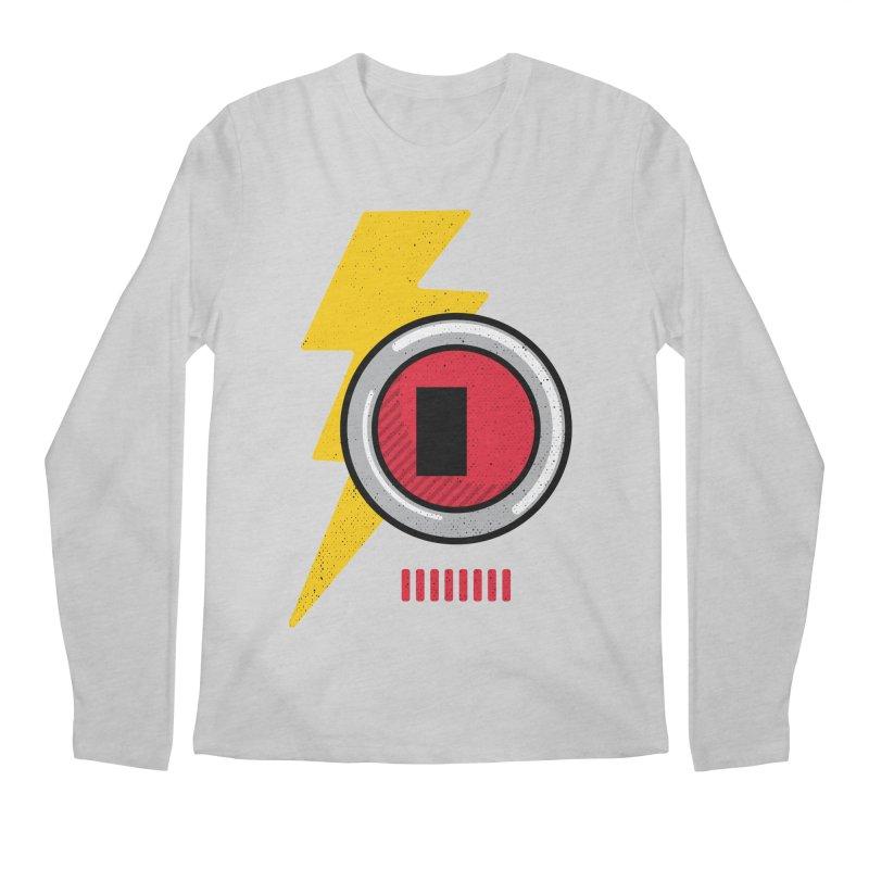 ROBOT BOWIE Men's Regular Longsleeve T-Shirt by Rocket Artist Shop