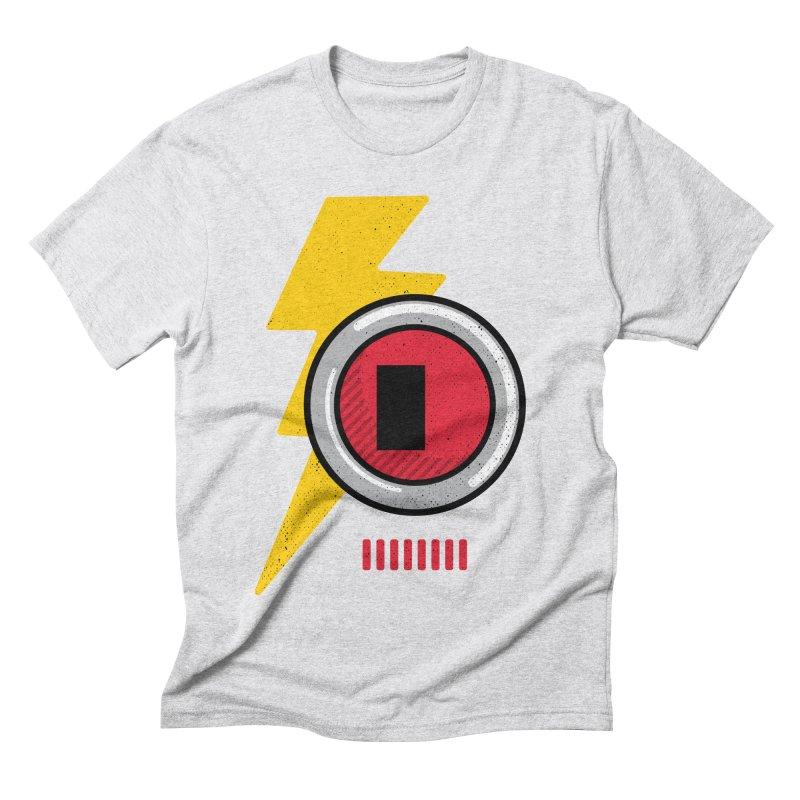 ROBOT BOWIE Men's Triblend T-Shirt by Rocket Artist Shop