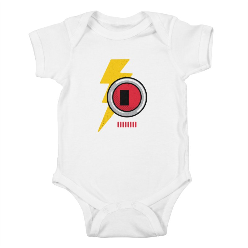 ROBOT BOWIE Kids Baby Bodysuit by Rocket Artist Shop