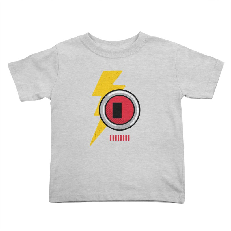 ROBOT BOWIE Kids Toddler T-Shirt by Rocket Artist Shop