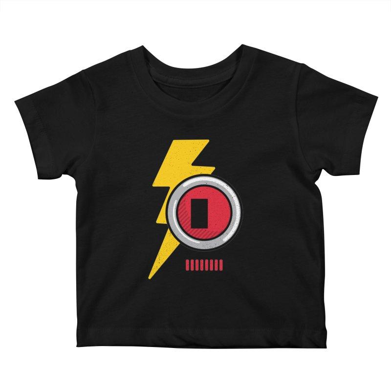 ROBOT BOWIE Kids Baby T-Shirt by Rocket Artist Shop
