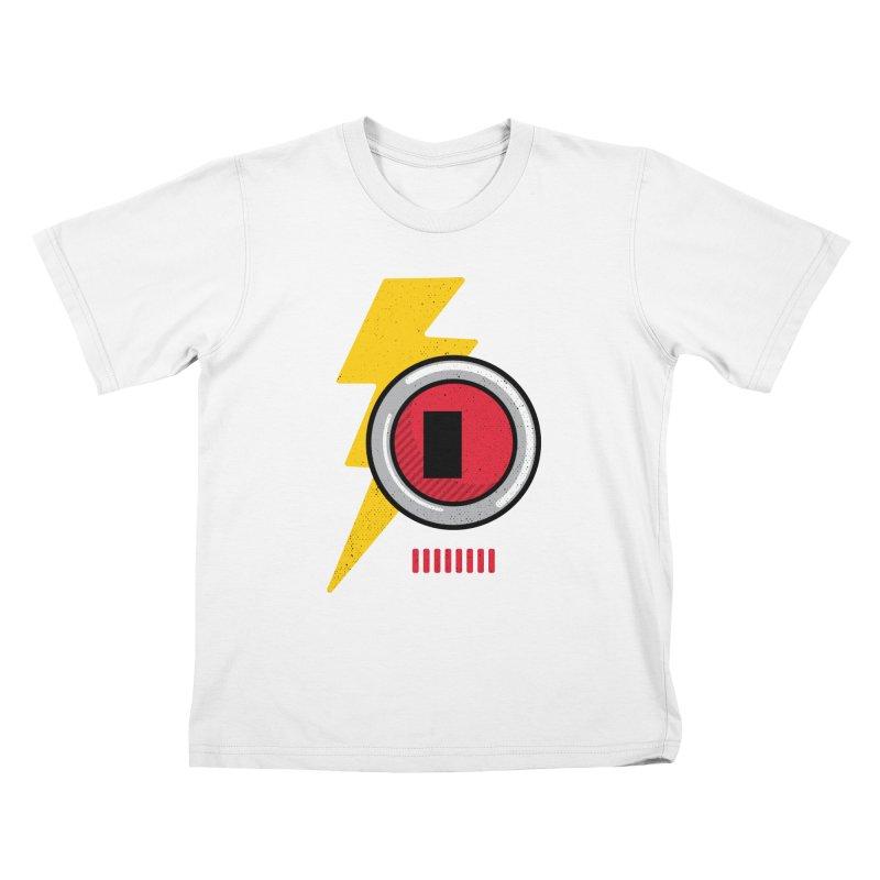 ROBOT BOWIE Kids T-Shirt by Rocket Artist Shop