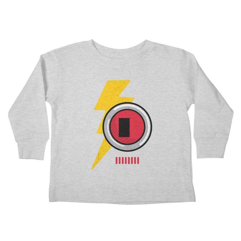 ROBOT BOWIE Kids Toddler Longsleeve T-Shirt by Rocket Artist Shop