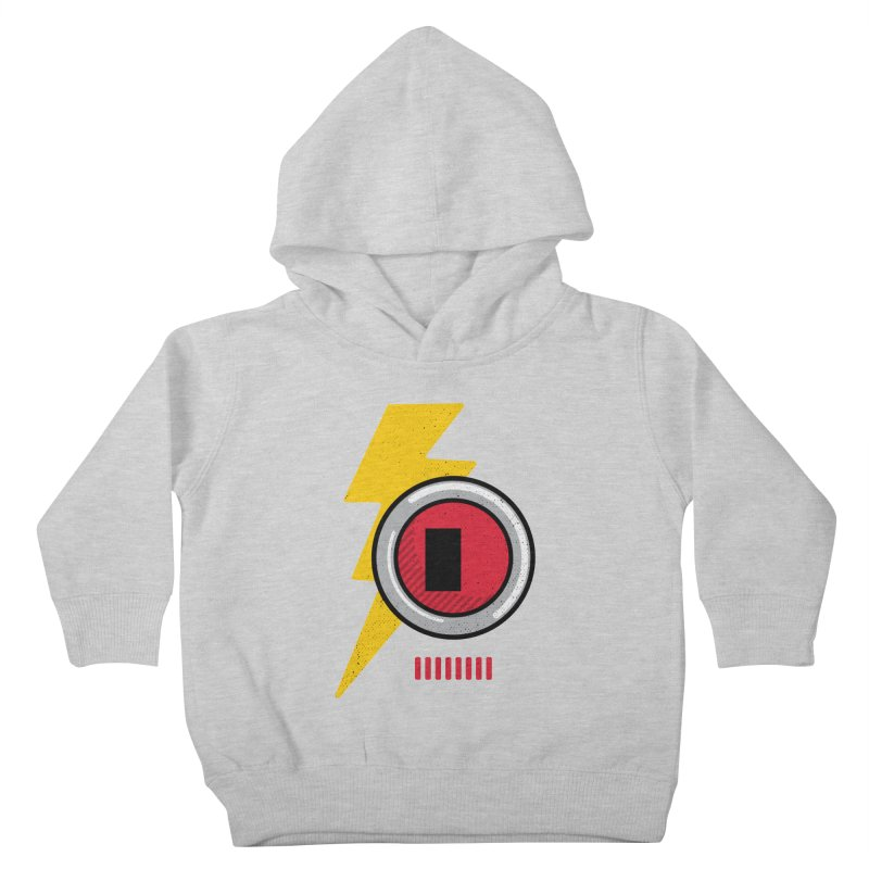 ROBOT BOWIE Kids Toddler Pullover Hoody by Rocket Artist Shop