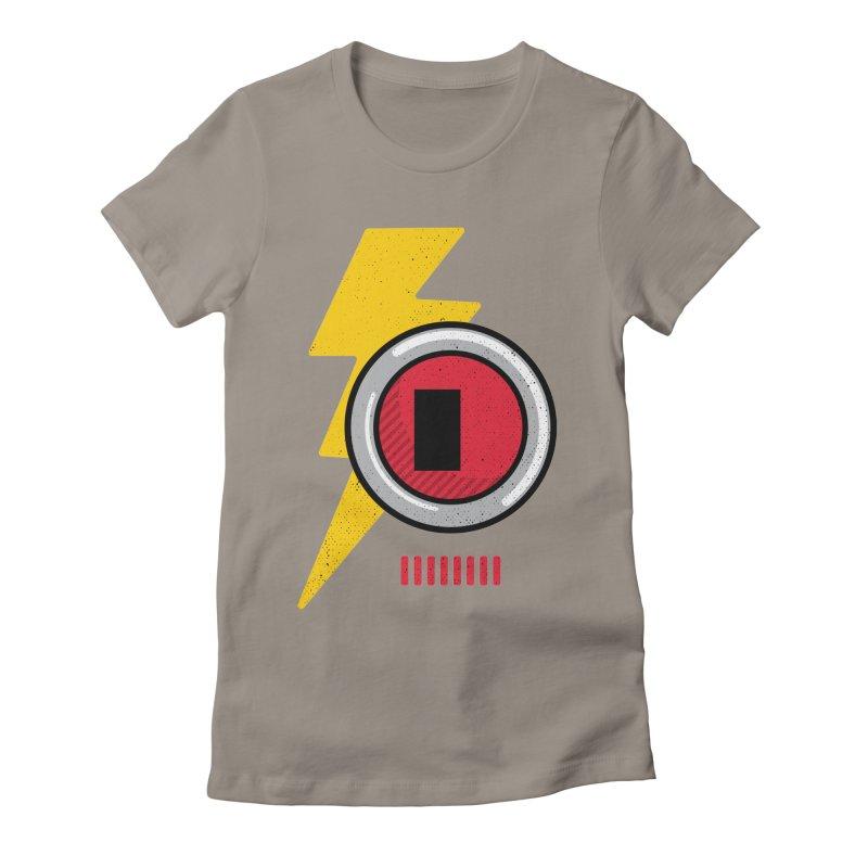 ROBOT BOWIE Women's T-Shirt by Rocket Artist Shop
