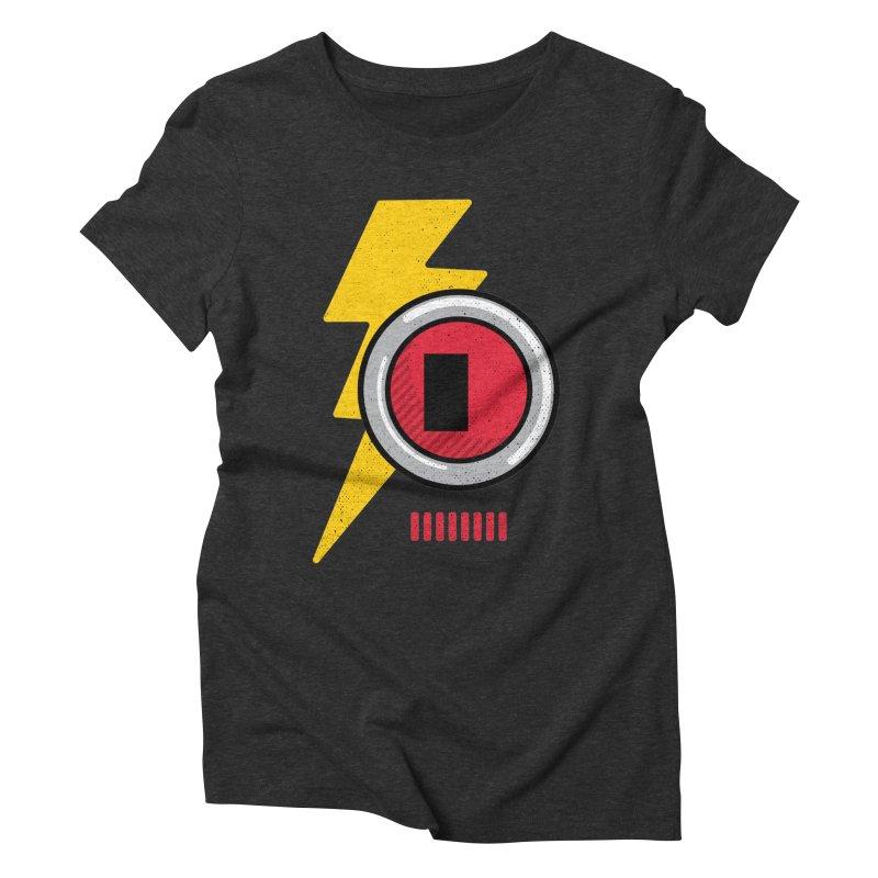 ROBOT BOWIE Women's Triblend T-Shirt by Rocket Artist Shop