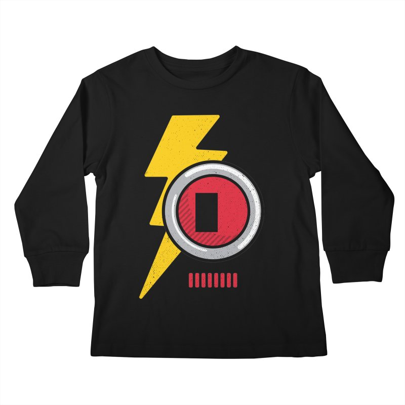 ROBOT BOWIE Kids Longsleeve T-Shirt by Rocket Artist Shop