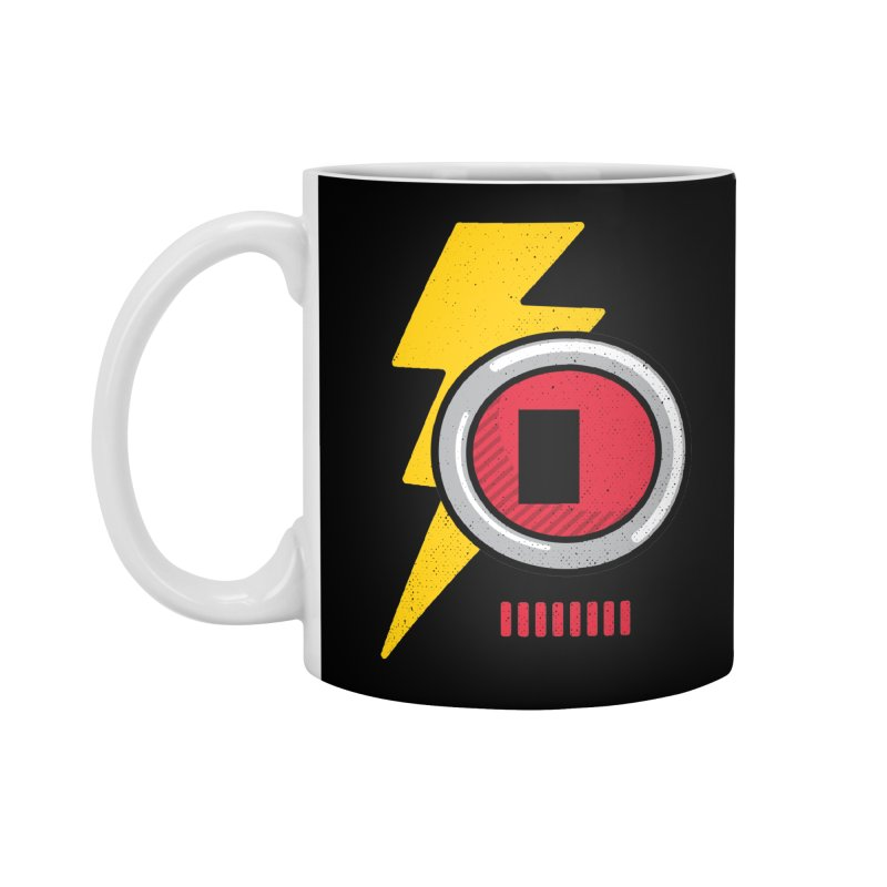 ROBOT BOWIE Accessories Standard Mug by Rocket Artist Shop