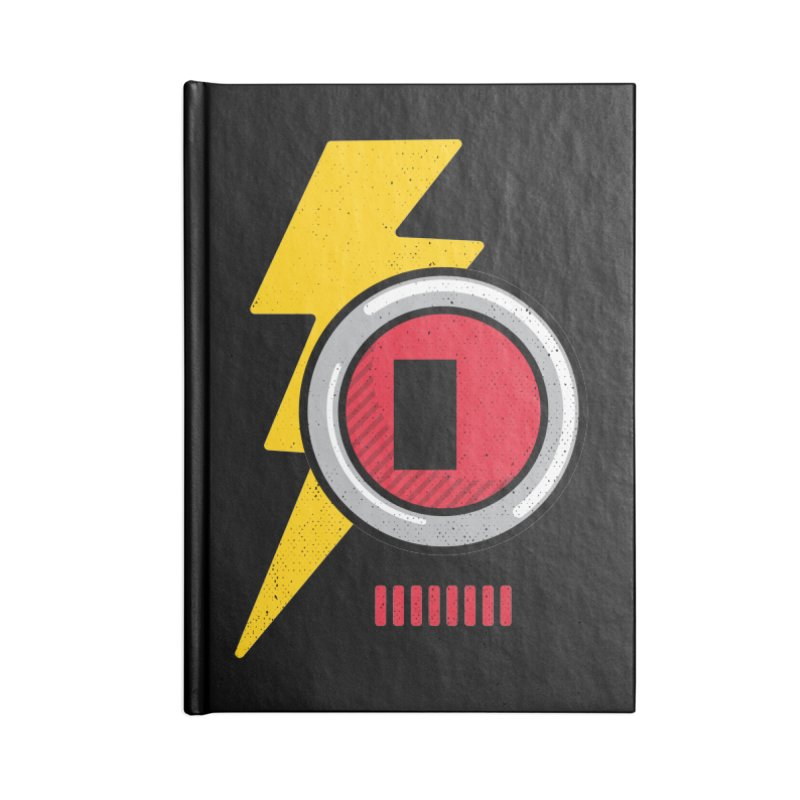 ROBOT BOWIE Accessories Lined Journal Notebook by Rocket Artist Shop