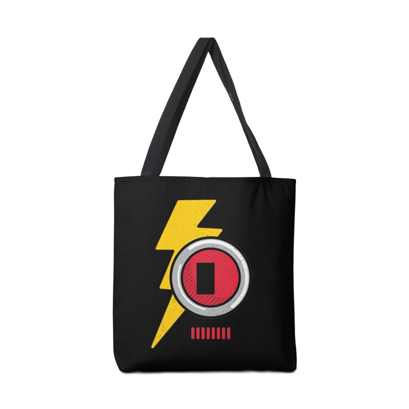 ROBOT BOWIE Accessories Tote Bag Bag by Rocket Artist Shop