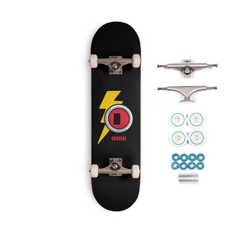 ROBOT BOWIE Accessories Complete - Basic Skateboard by Rocket Artist Shop