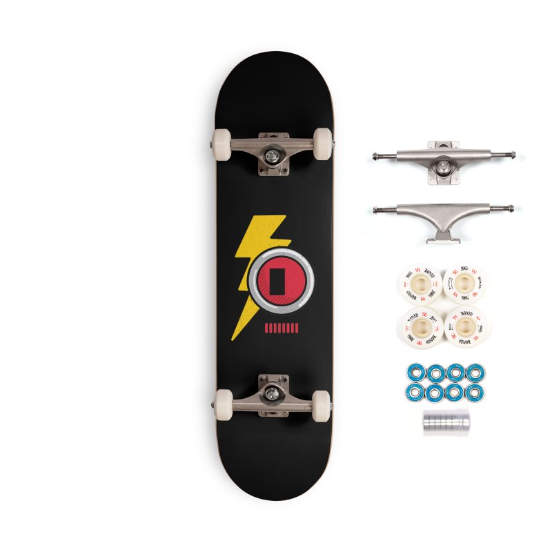 ROBOT BOWIE Accessories Complete - Premium Skateboard by Rocket Artist Shop