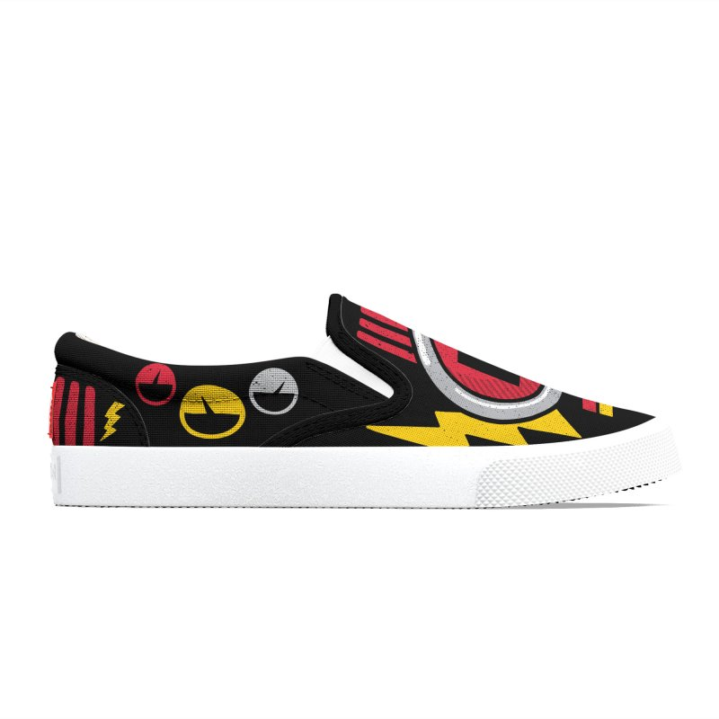 ROBOT BOWIE Women's Shoes by Rocket Artist Shop