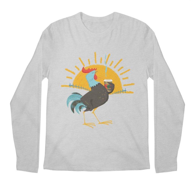 Goog Morning Men's Longsleeve T-Shirt by Rocket Artist Shop