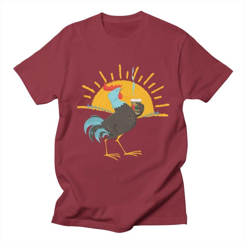 Goog Morning Women's Unisex T-Shirt by Rocket Artist Shop