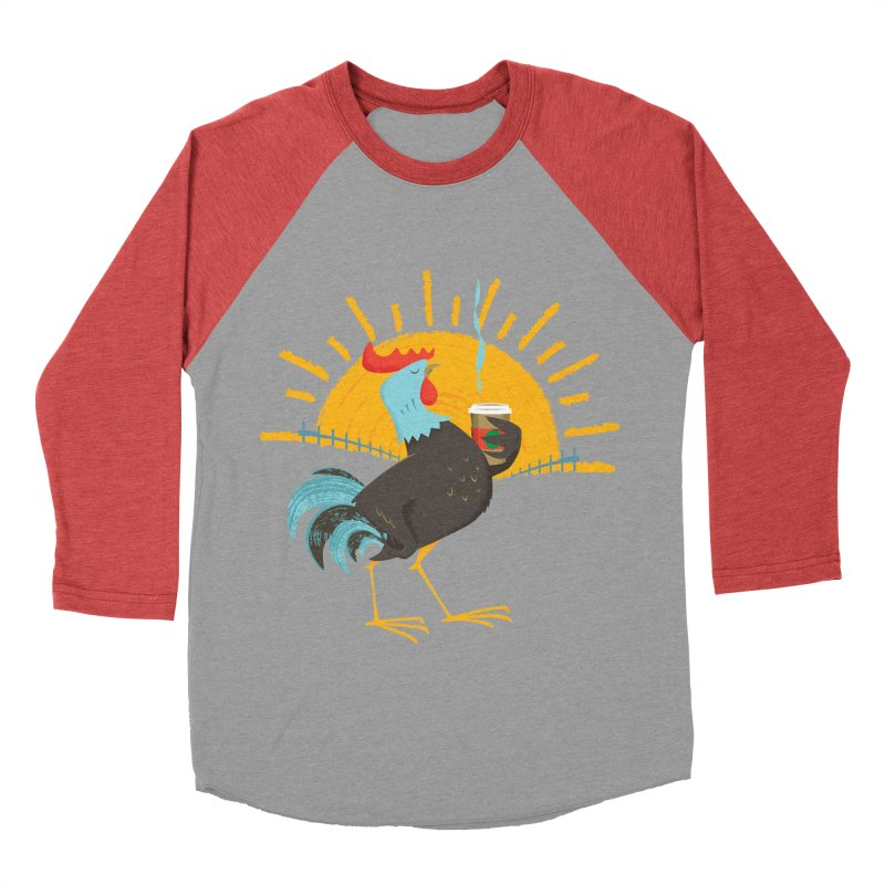 Goog Morning Men's Baseball Triblend T-Shirt by Rocket Artist Shop