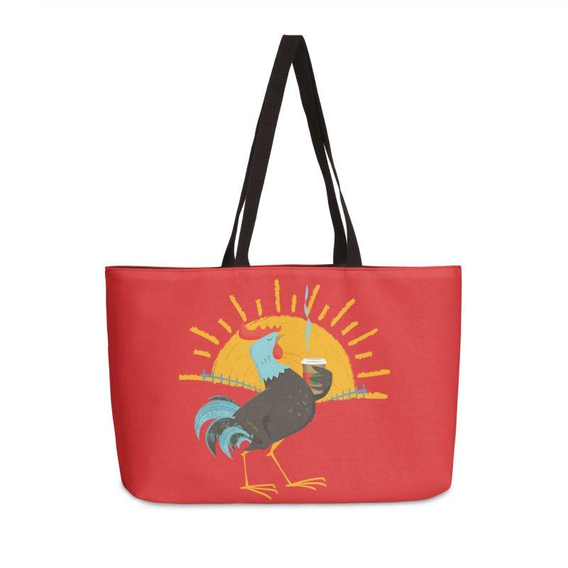 Goog Morning Accessories Bag by Rocket Artist Shop