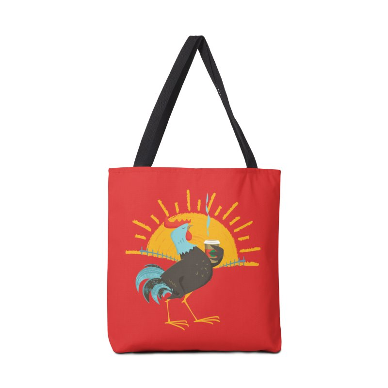 Goog Morning Accessories Bag by Rocket Artist Shop