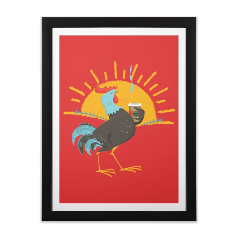 Goog Morning Home Framed Fine Art Print by Rocket Artist Shop