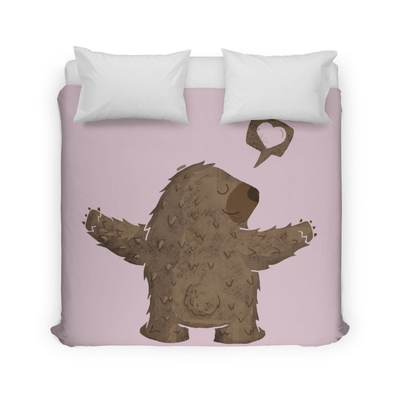 Gimme a hug! Home Duvet by Rocket Artist Shop