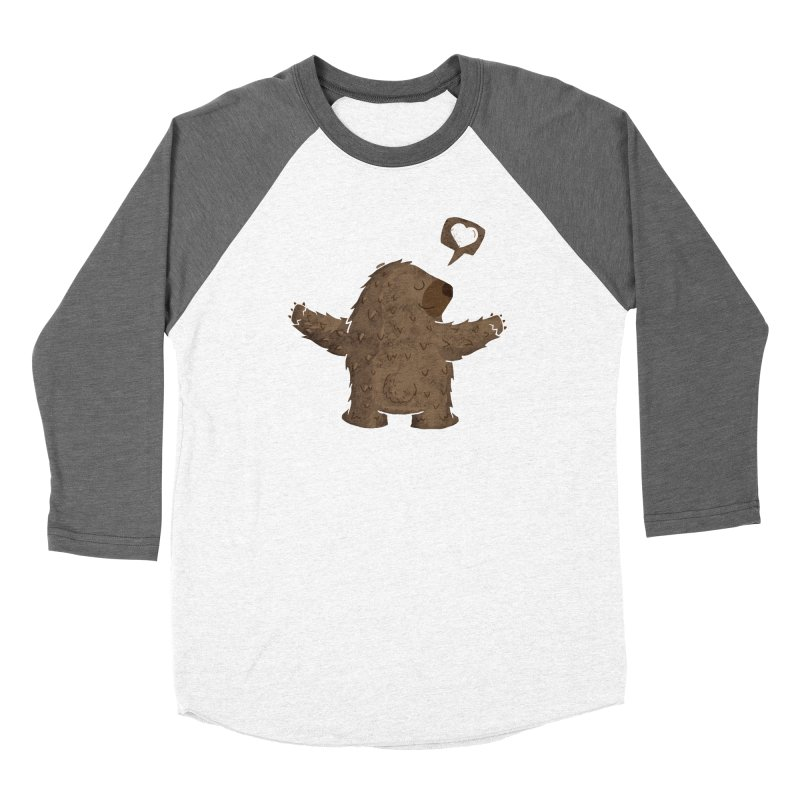 Gimme a hug! Women's Baseball Triblend Longsleeve T-Shirt by Rocket Artist Shop