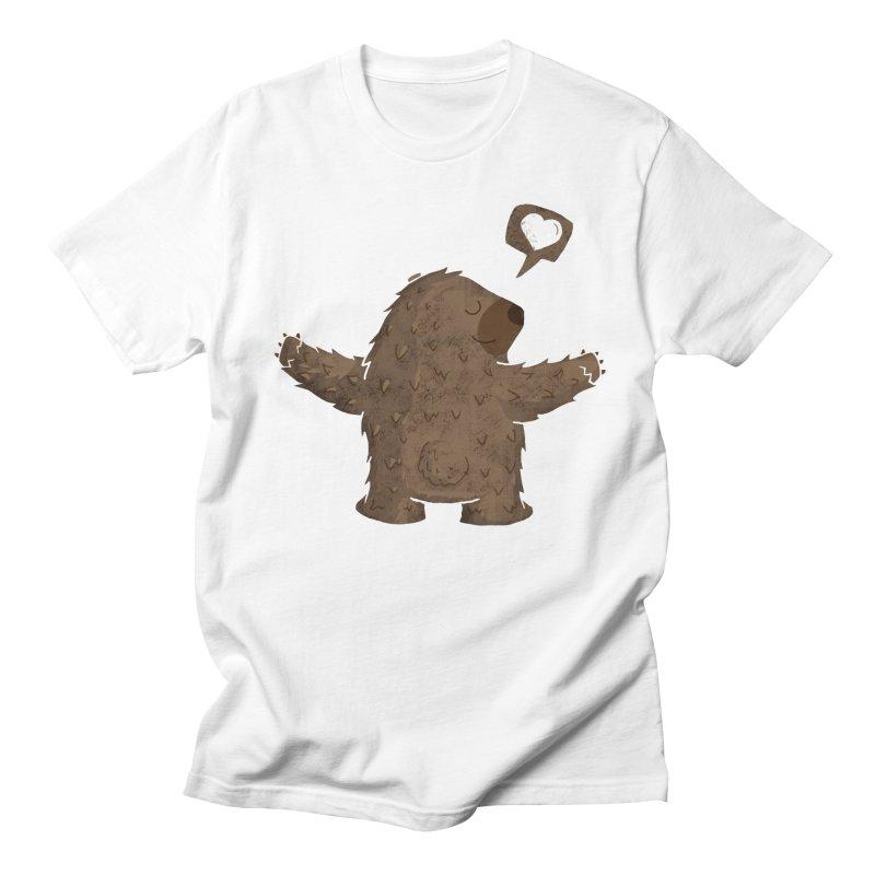 Gimme a hug! Women's Unisex T-Shirt by Rocket Artist Shop