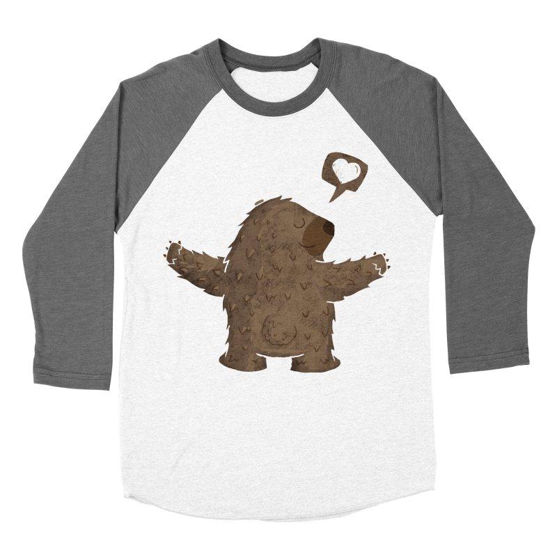 Gimme a hug! Women's Baseball Triblend T-Shirt by Rocket Artist Shop