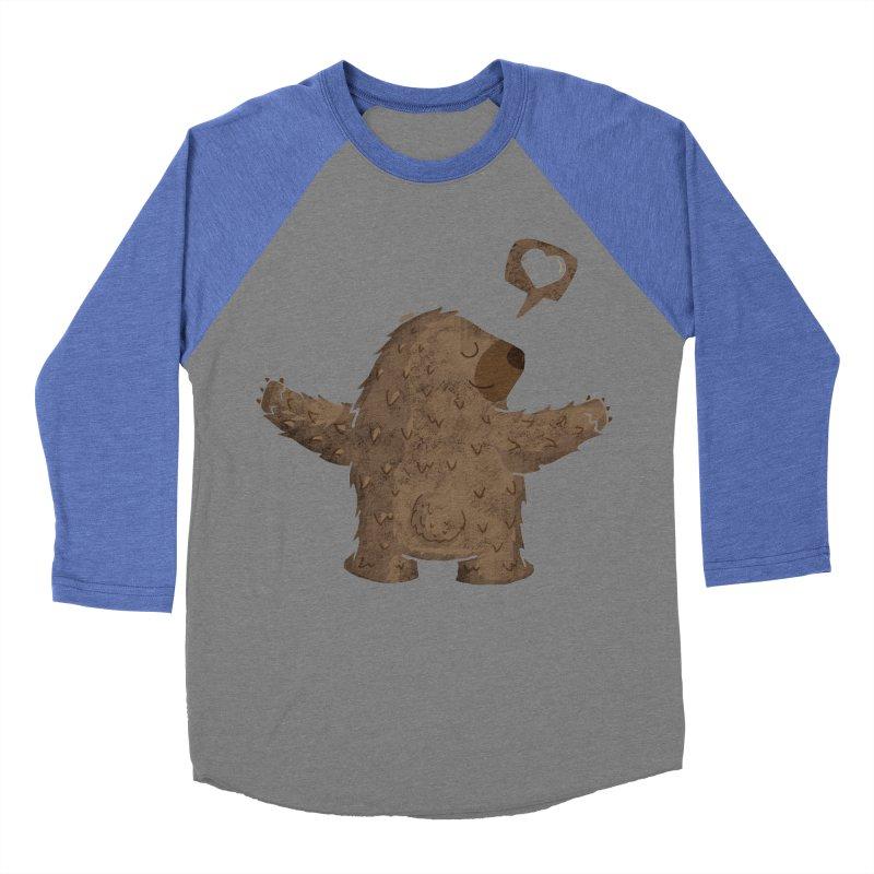 Gimme a hug! Men's Baseball Triblend T-Shirt by Rocket Artist Shop