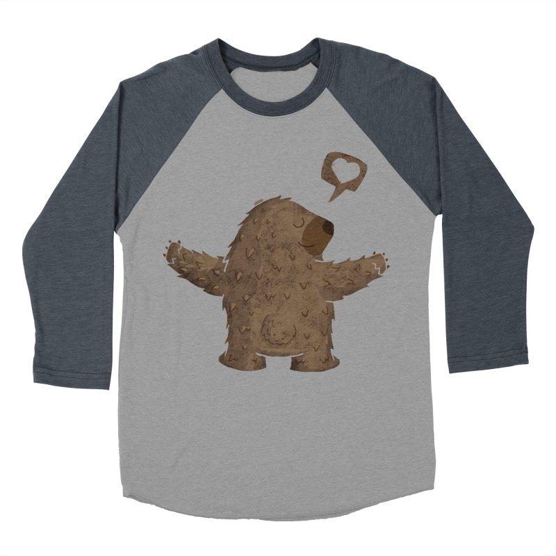 Gimme a hug! Men's Baseball Triblend Longsleeve T-Shirt by Rocket Artist Shop