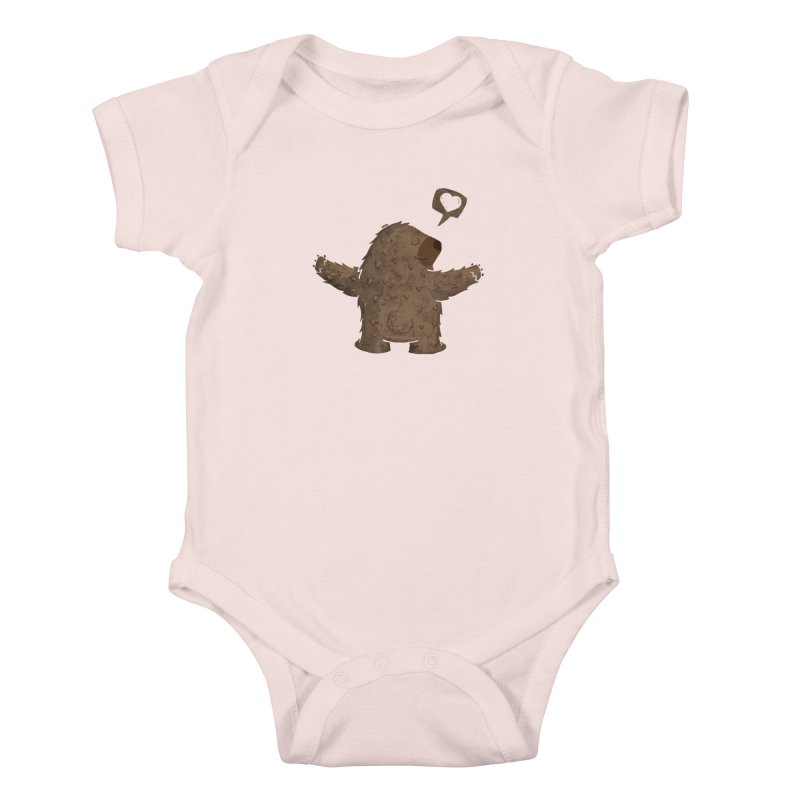 Gimme a hug! Kids Baby Bodysuit by Rocket Artist Shop