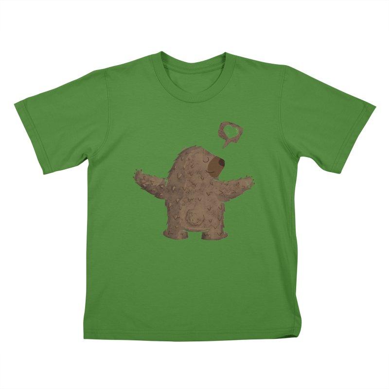 Gimme a hug! Kids T-Shirt by Rocket Artist Shop