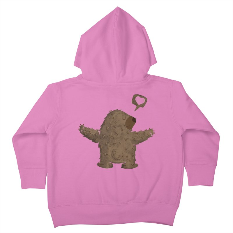 Gimme a hug! Kids Toddler Zip-Up Hoody by Rocket Artist Shop