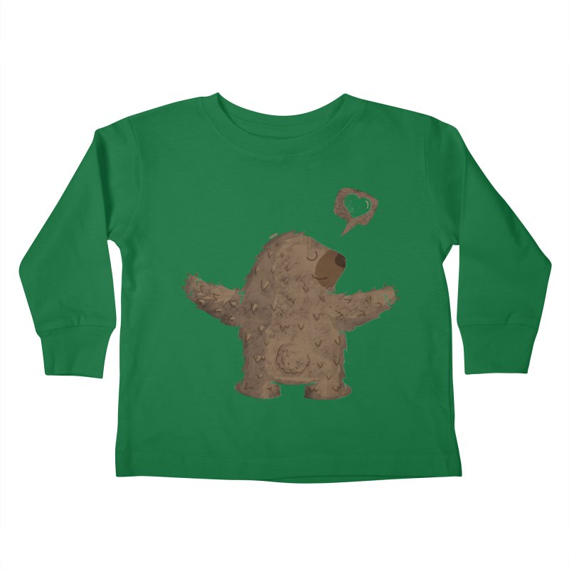 Gimme a hug! Kids Toddler Longsleeve T-Shirt by Rocket Artist Shop