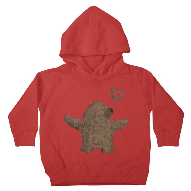Gimme a hug! Kids Toddler Pullover Hoody by Rocket Artist Shop