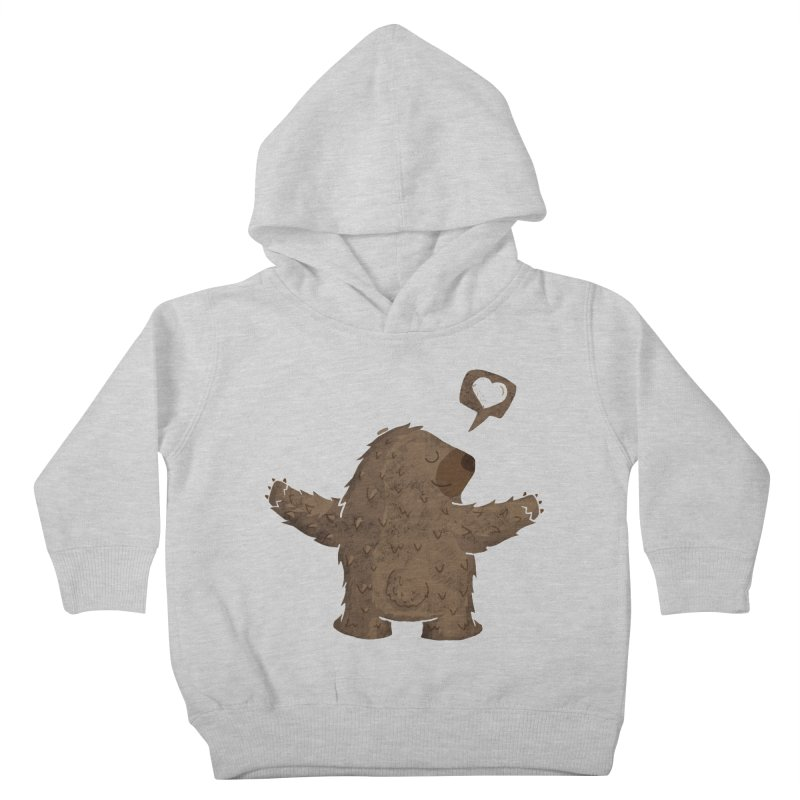 Gimme a hug! Kids Toddler Pullover Hoody by Rocket Artist Shop