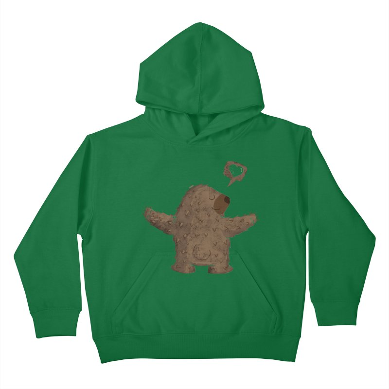 Gimme a hug! Kids Pullover Hoody by Rocket Artist Shop
