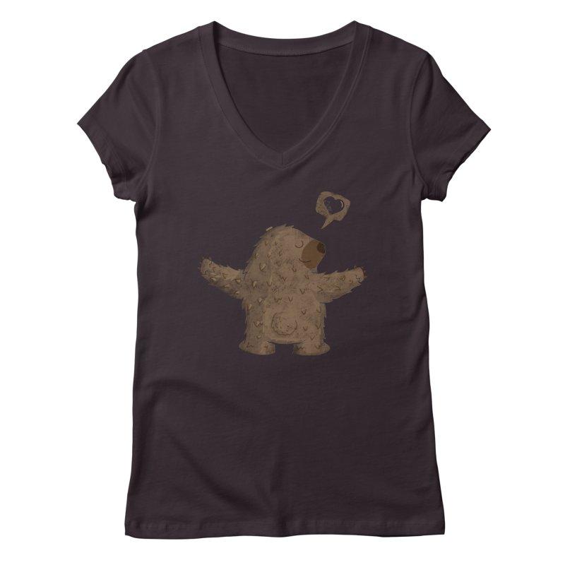 Gimme a hug! Women's V-Neck by Rocket Artist Shop