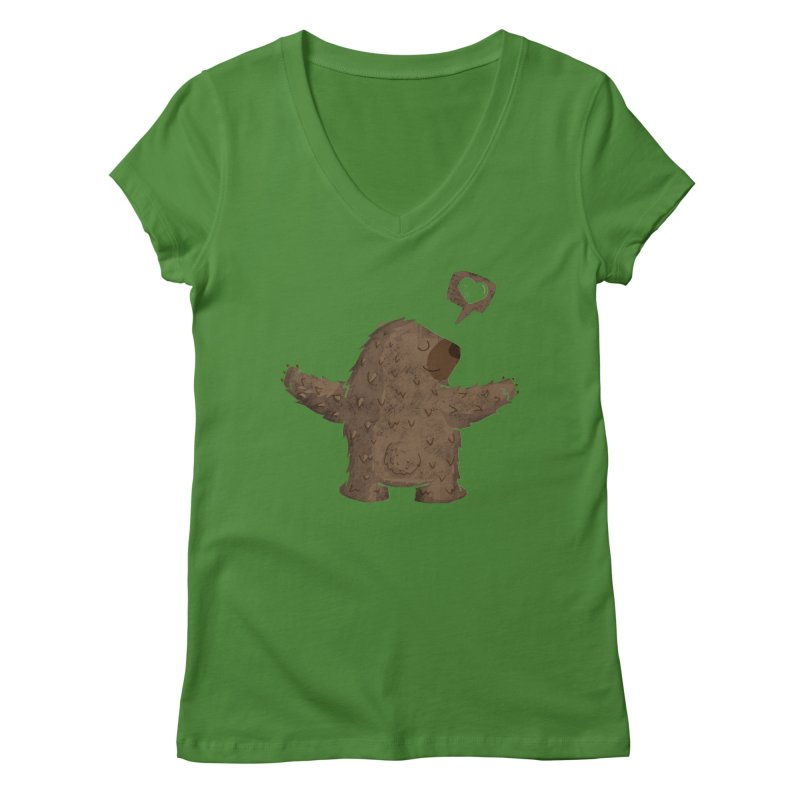 Gimme a hug! Women's V-Neck by Rocket Artist Shop