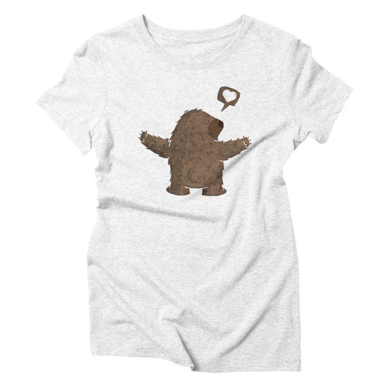 Gimme a hug! Women's Triblend T-shirt by Rocket Artist Shop