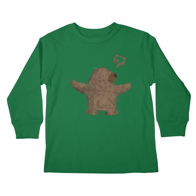 Gimme a hug! Kids Longsleeve T-Shirt by Rocket Artist Shop