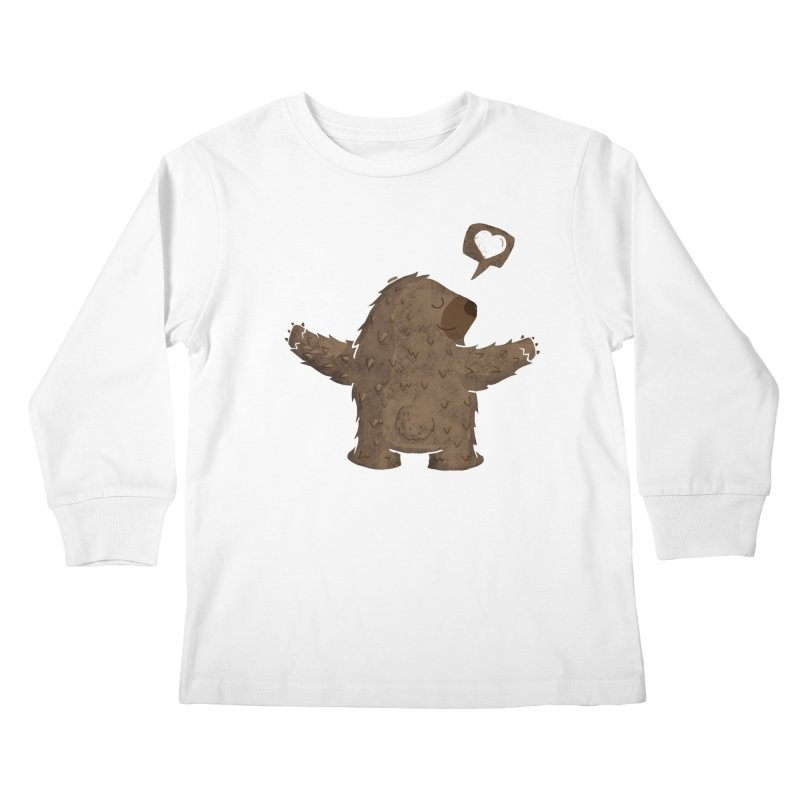 Gimme a hug! Kids Longsleeve T-Shirt by Rocket Artist Shop