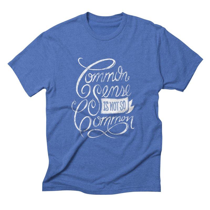 UNCOMMON Men's Triblend T-shirt by Rocket Artist Shop