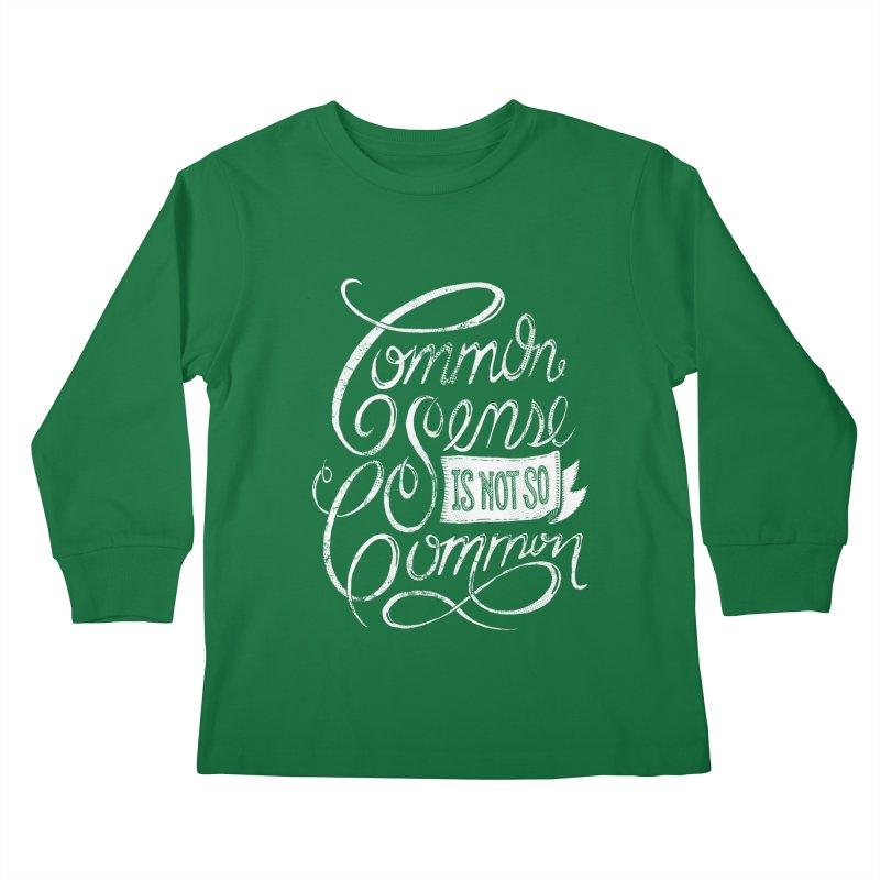 UNCOMMON Kids Longsleeve T-Shirt by Rocket Artist Shop