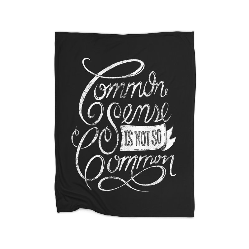 UNCOMMON Home Fleece Blanket by Rocket Artist Shop