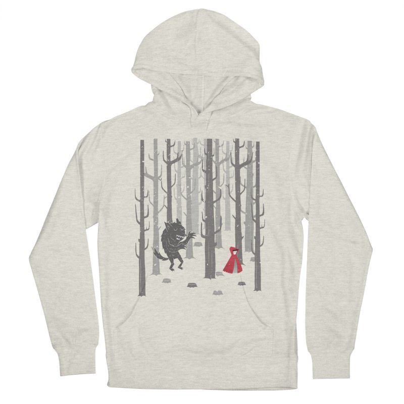 Beware of the wolf Men's Pullover Hoody by Rocket Artist Shop